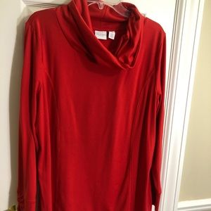 Chico's red top - size 3